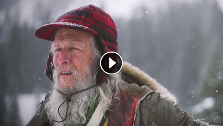 He Spent 40 Years Alone In The Woods. The Discovery He Made Stunned The Scientists!