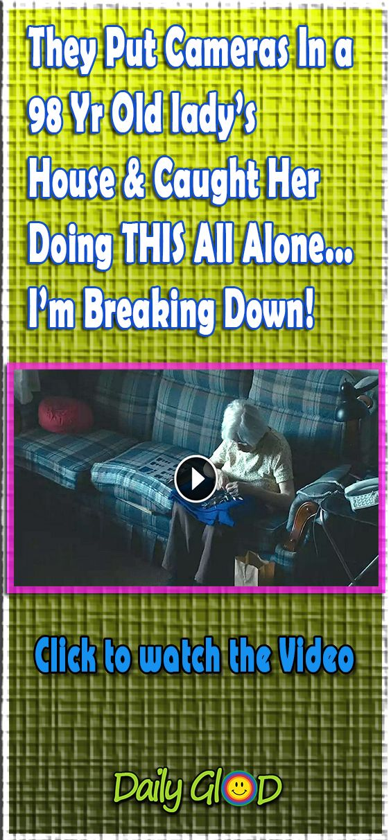 My Heart Broke Into A Million Pieces When I Saw Her Do THIS! #old #lady #diy #home #decore #latest #trending #house #craft #2018 #design #viral #video #camera #breakingdown